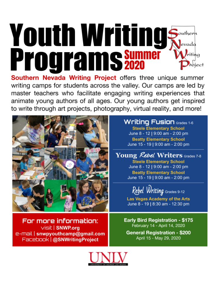 Youth Camps Flyer 2020